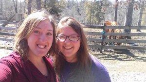 Tori and Ryanne at Ozone