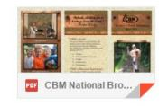 CBM National brochure